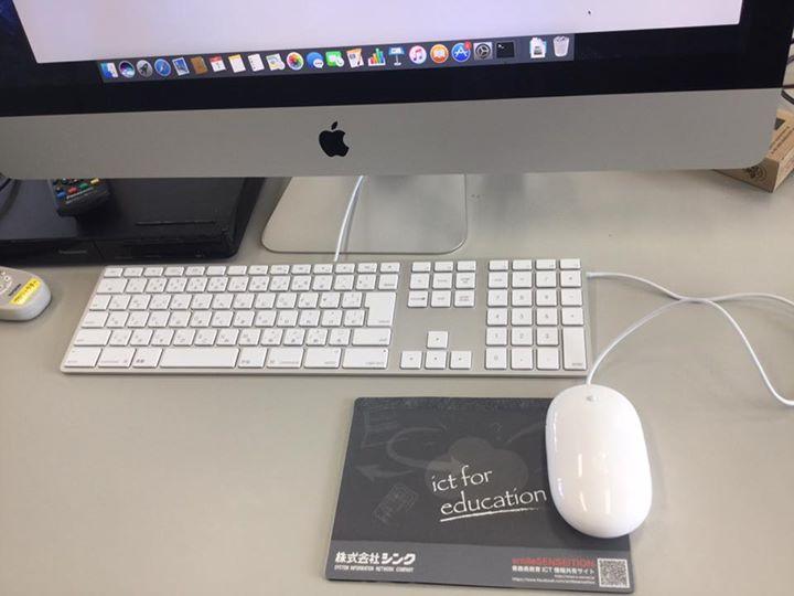Mac実習室完成です。
